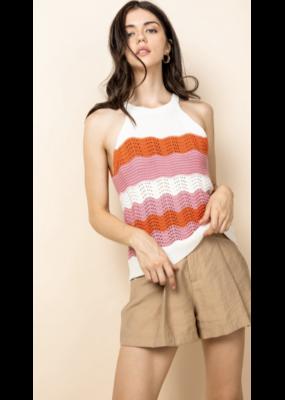THML THML Crochet Halter Top TMK1263