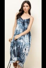 THML THML Tie Dye Midi Dress SRT1123-1