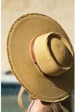 Urbanista Urbanista Wide Brim Frayed Edge Hat 30H5082