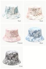 Aili's Corner Aili's Corner Watercolor Tie Dye Bucket Hat HWTDB