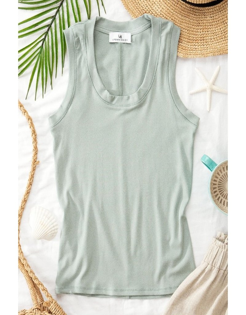 Trend Notes Trend Notes Vintage Ribbed Tank 0570-4946-7-7