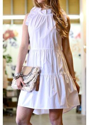 Mazik Mazik Ruffle Detail Tiered Dress MK6102