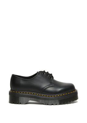 Dr. Martens 1461 Quad Polished Smooth Leather Platform Shoe