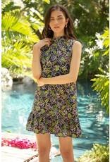 THML THML Sleeveless Print Dress JH1414