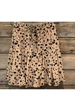 Mazik Mazik Leopard Ruffle Skirt MK1423