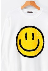 Trend Notes Trend Notes Smile Sweatshirt 0604-3142-4