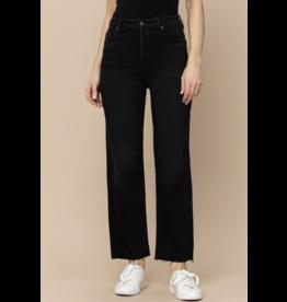 Hidden Stretch Straight Jeans