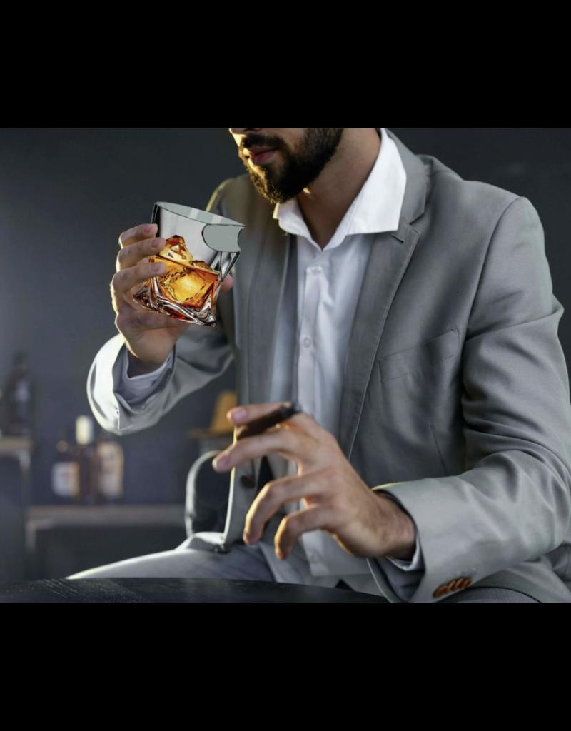 Bezrat Bezrat Twisted Cigar Glass BT968C