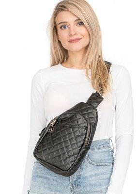Cap Zone Quilted Shoulder Sling Bag