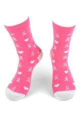 Selini Women's Novelty Socks Breast Cancer