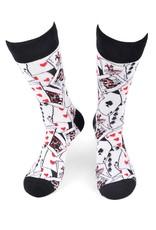 Selini Men's Novelty Socks Cards