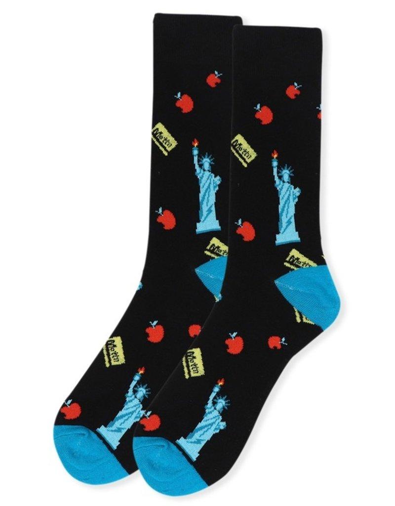 Selini Men's Novelty Socks  New York
