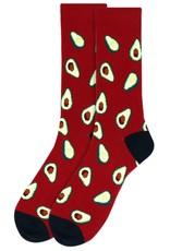 Selini Men's Novelty Socks Avocado
