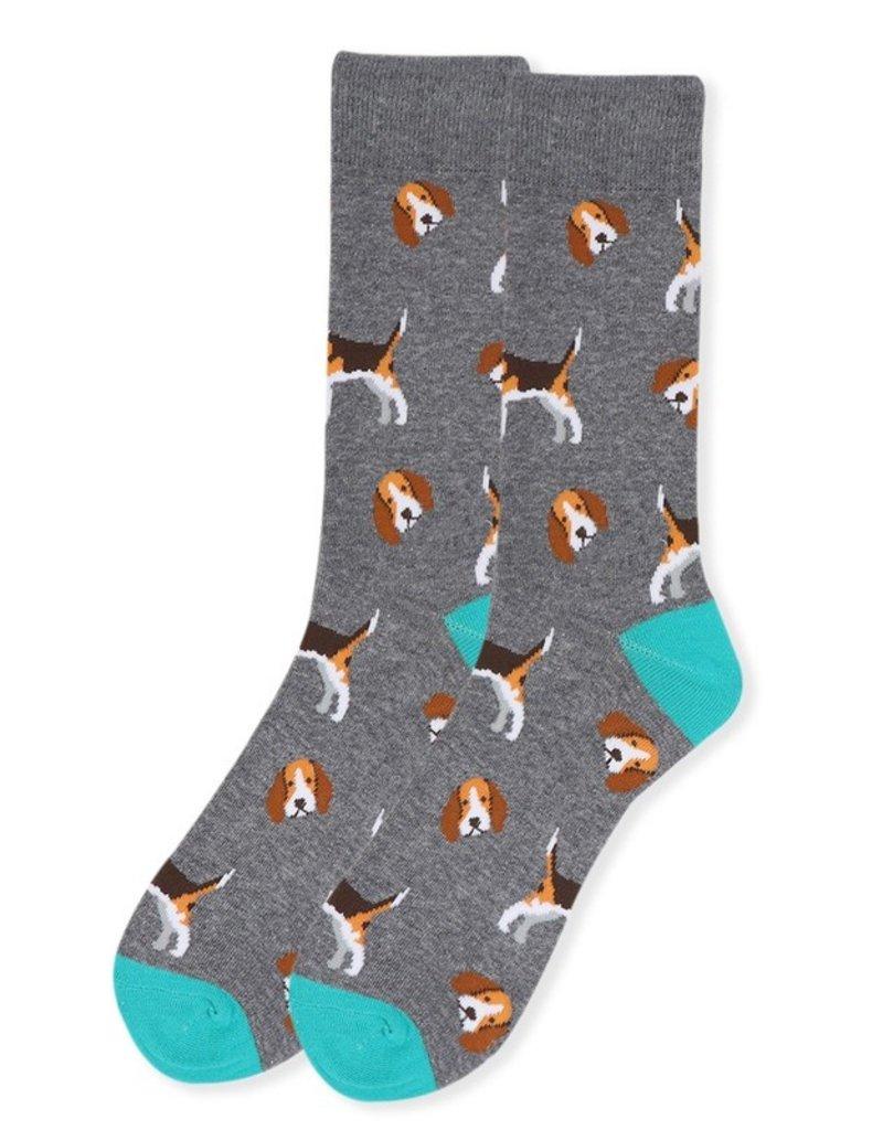 Selini Men's Novelty Socks Dog