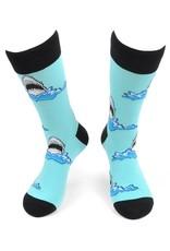 Selini Men's Novelty Socks Shark