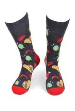 Selini Men's Novelty Socks  Taco