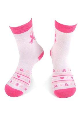 Selini Womens Novelty Socks Breast Cancer