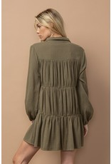 In the Beginning In the Beginning Mini Tiered Dress
