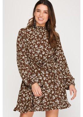 La Vida Floral Woven Dress