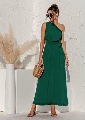 Anna-Kaci Date Night One Shoulder Maxi Dress