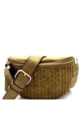 Suzie Bag Chevron Quilted Fanny Pack