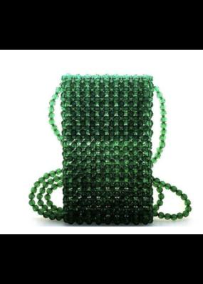 Suzie Bag Beaded Crossbody Cellphone Purse