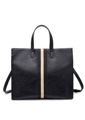 Suzie Bag Two Tone Stripe Tote Bag