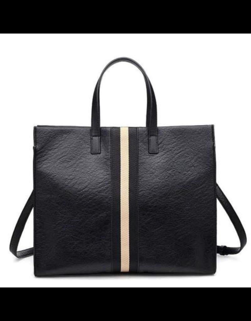 Suzie Bag Suzie Bag Two Tone Stripe Tote Bag