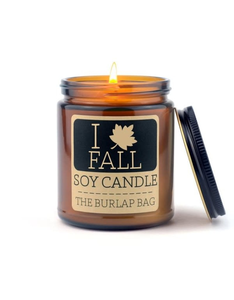 The Burlap Bag The Burlap Bag 9oz. Candle I Love Fall
