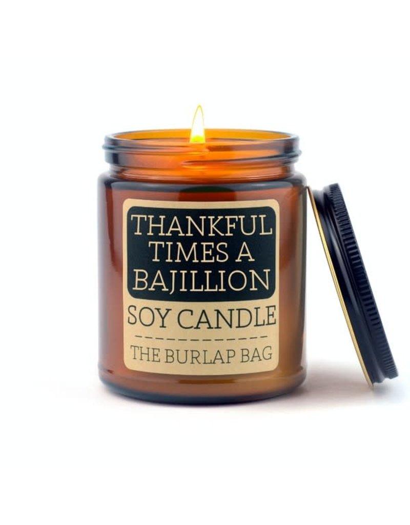 The Burlap Bag The Burlap Bag 9oz. Candle Thankful