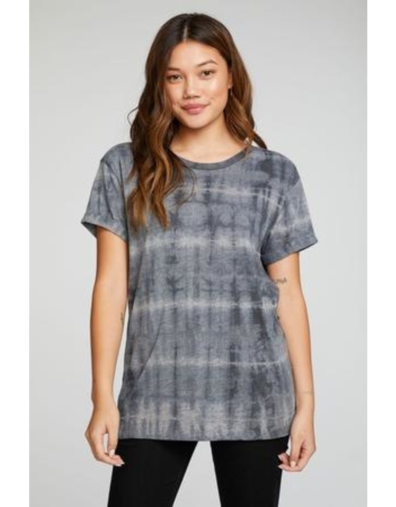 Chaser Jersey Rolled Short Sleeve Crew Neck Tee