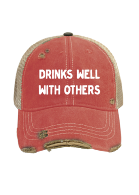 Retro Brand Retro Brand Drinks Well Hat RTF1629H