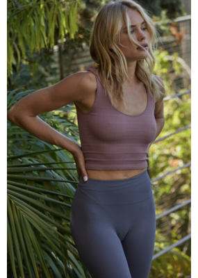 By Together Ribbed Seamless Crop Top