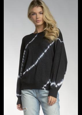Elan Tie Dye Crew Sweater