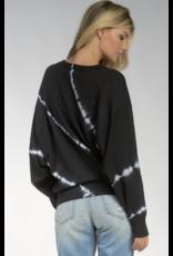 Elan Elan Tie Dye Crew Sweater