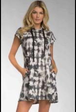 Elan Elan Cap Sleeve Dress