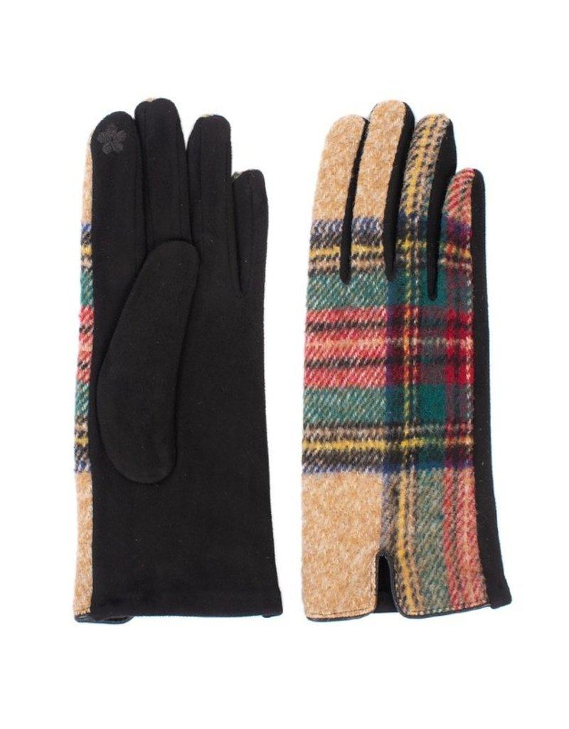 Suzie Q Suzie Q Tartan Plaid Gloves