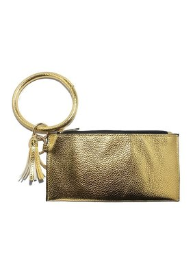 Suzie Q Metallic Wallet Key Chain