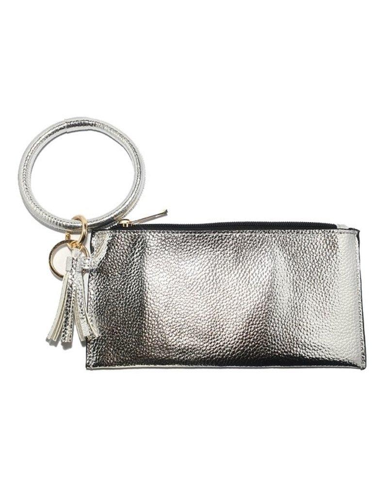 Suzie Q Suzie Q Metallic Wallet Key Chain
