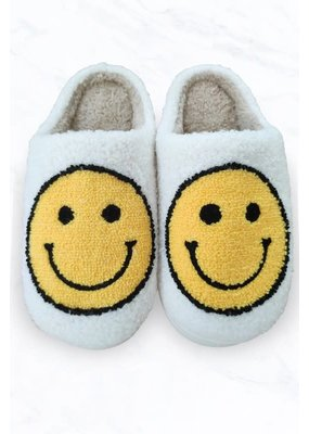 Suzie Q Smiley Face Slippers