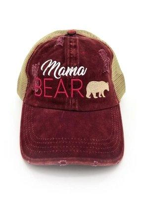 Suzie Q Mama Bear Baseball Cap