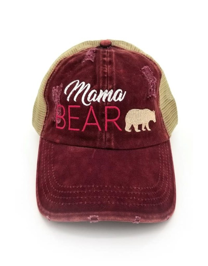 Suzie Q Suzie Q Mama Bear Baseball Cap