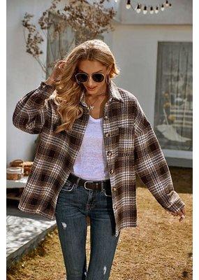 Miss Sparkling Plaid Essential Flannel