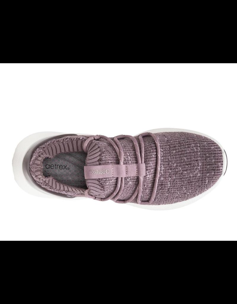 Aetrex Aetrex Dani Knit Lace Up Sneaker