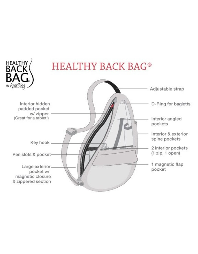 Healthy Back Bag Healthy Back Bag Distressed Nylon Tote