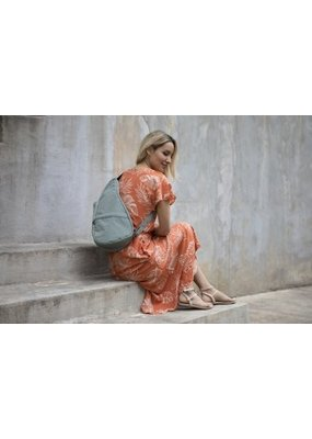 Healthy Back Bag Distressed Nylon Tote