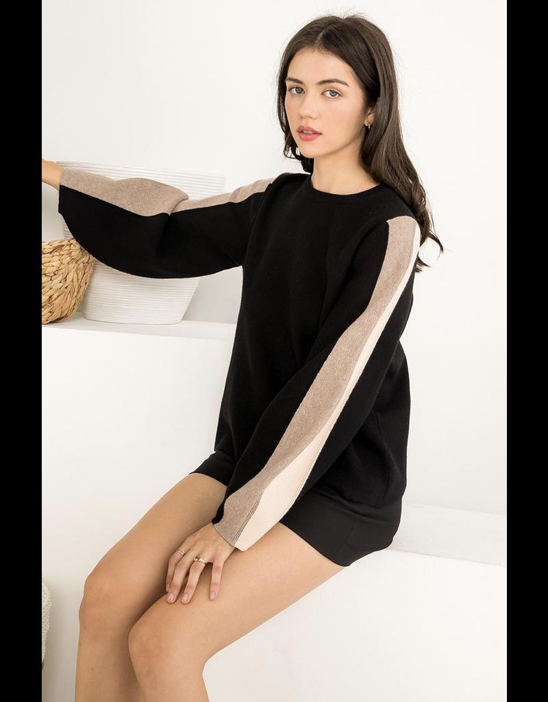 THML THML Knit Striped Sweater