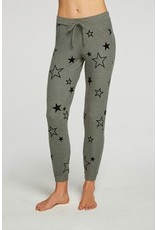 Chaser Chaser Bliss Knit Cuffed Drawstring Jogger