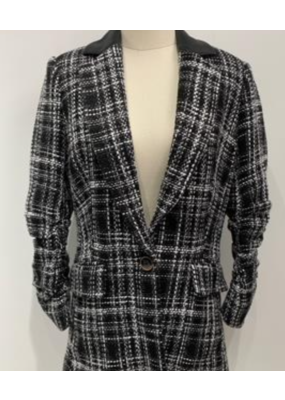 Fate + Fortune Plaid Jacket