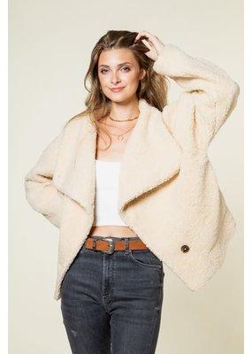 Fashion District LA Teddy Fleece Jacket